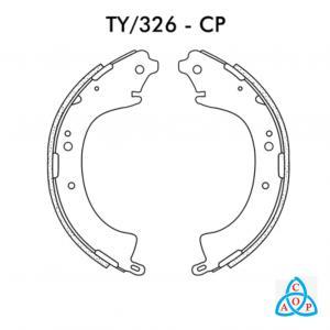 Jogo de Sapata de Freio Toyota Hulux - TY326CP - Frasle