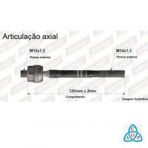 Articulação Axial Gm S-10/Trailblazer - 680517 - Unidade - Viemar