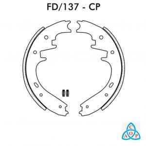 Jogo de Sapata de Chrysler Dakota, Durango - Ford Ranger - FD137CP - Fralse