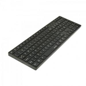 Teclado Multimídia USB ABNT2 MK-601BK SLIM Preto FORTREK